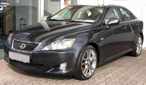 Lexus IS front
